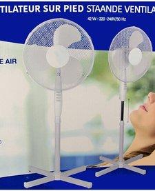 Staande ventilator met 3 snelheden