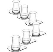 LAV LAV EVA çay bardağı seti (170cc)