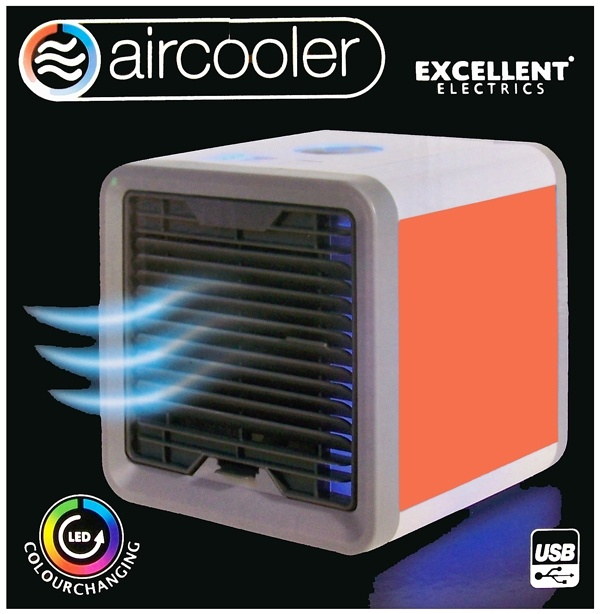 Excellent Electrics Aircooler - Luchtkoeler - USB