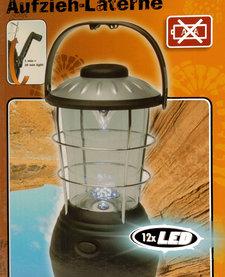 Opwind-LED-lantaarn (12 LED's)