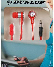 In-ear sport oordopjes rood