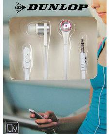 In-ear sport oordopjes wit