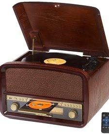 CR 1112 - Retro platenspeler + CD/MP3/USB