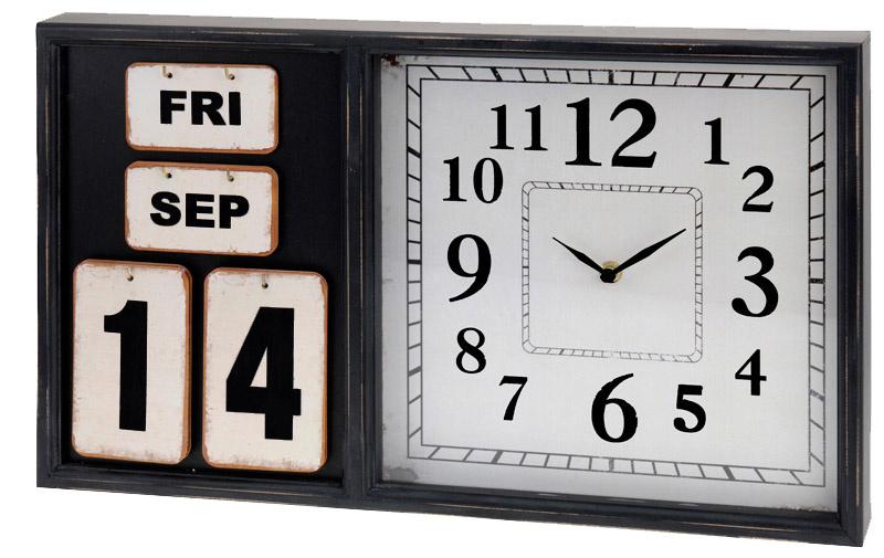 Segnale Wandklok met kalender