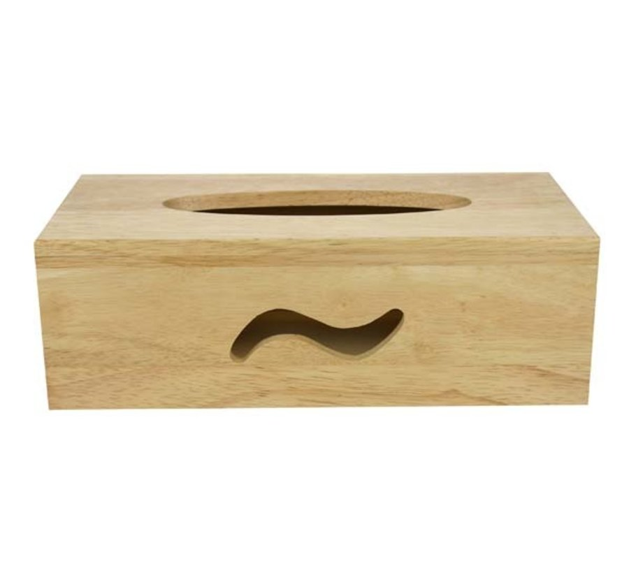 Houten tissuebox