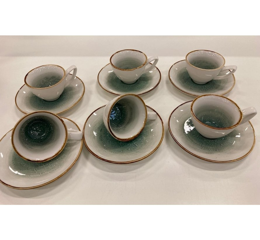 12 parca Turk kahve fincan seti