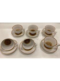 12 parca Turk kahve seti +/- 7 cc