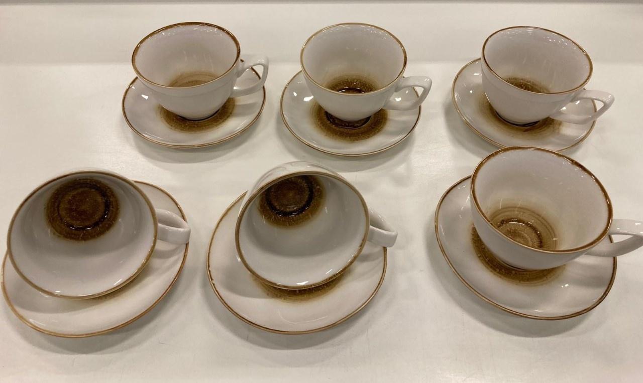 12 parca kahve seti 21 cc AMIENS geel