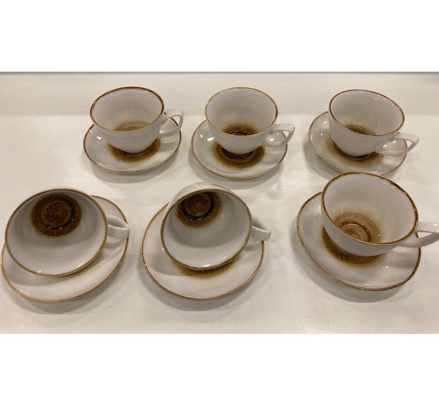 12 delige koffieset 21 cc