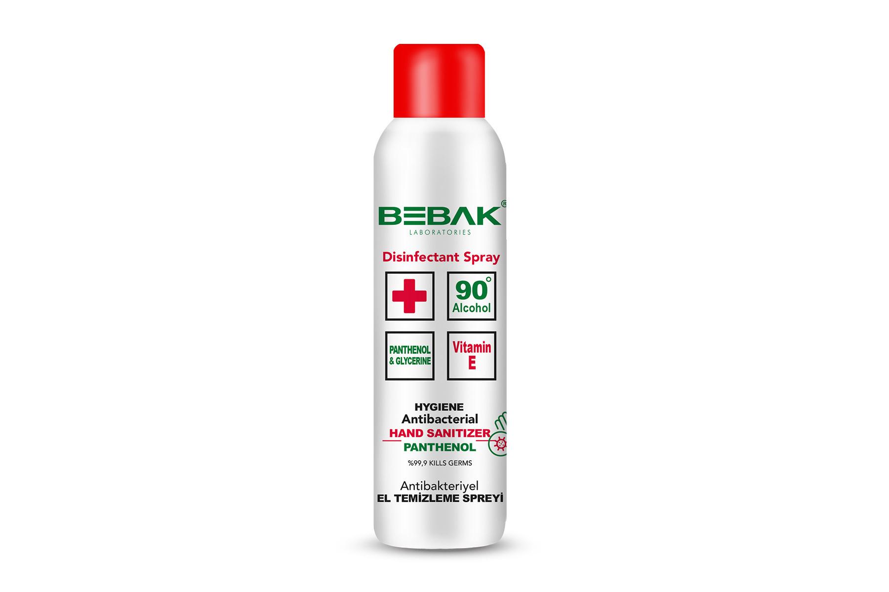 Bebak Antibacteriele desinfecterende handspray