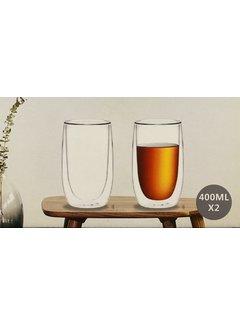 Bricard Glassware Dubbelwandige glazen