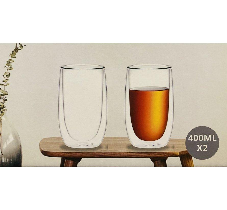 Dubbelwandige glazen
