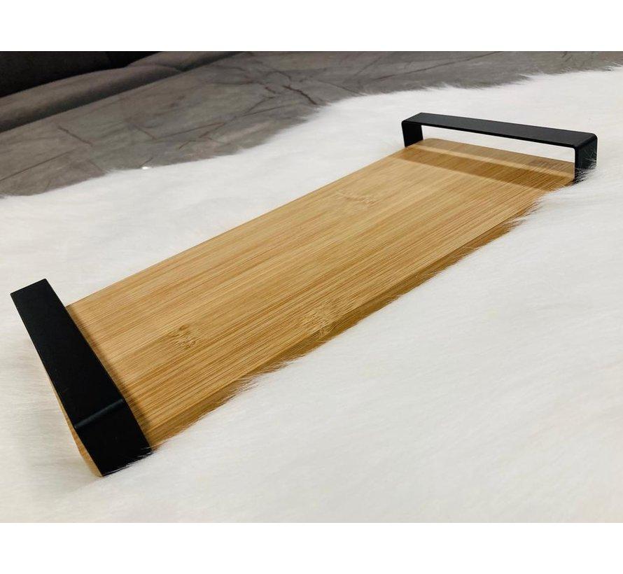 Bambu sunumluk (metal kulplu)
