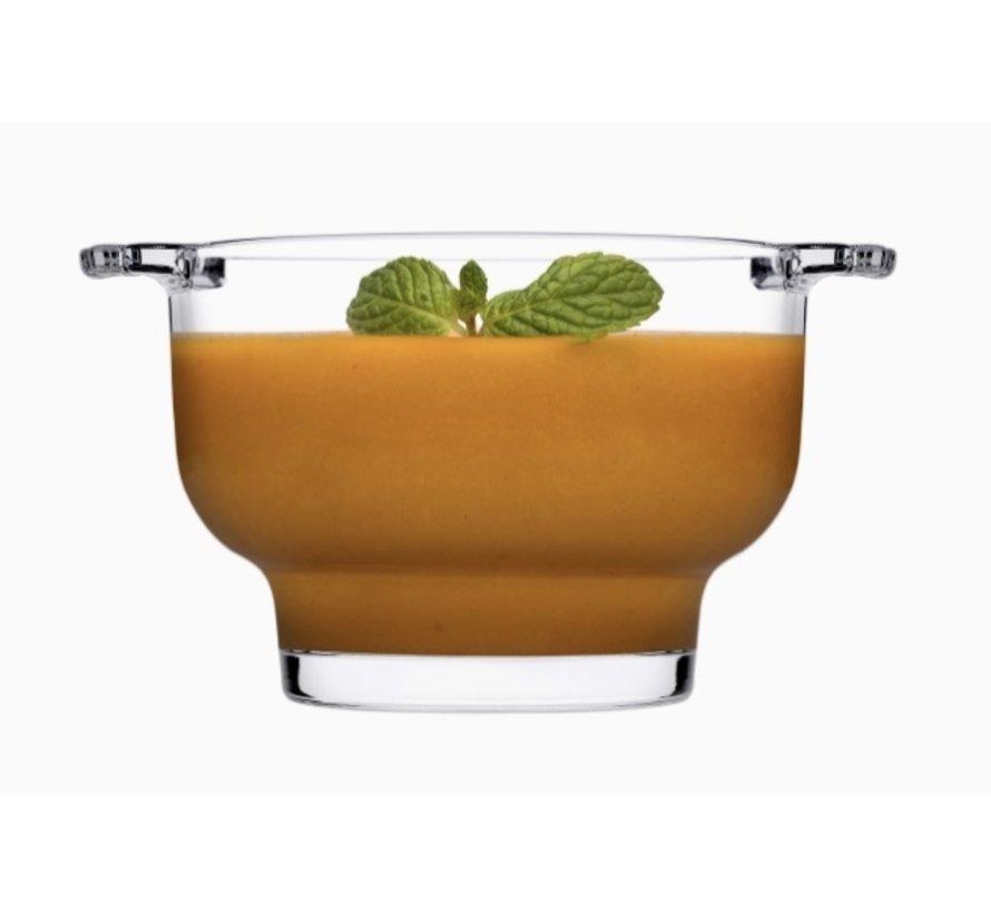 Soupy Glazen kom 2-delig