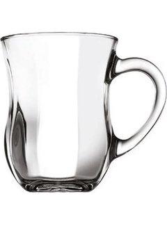 Paşabahçe Dem kulplu 6 kişilik çay bardağı seti