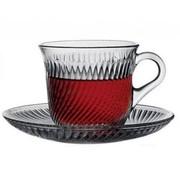 Pasabahce Thee/koffieglazen met handvat Marmara 12 delig
