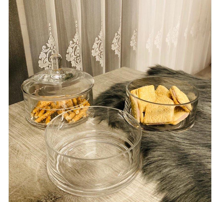 3 katli cam kurabiyelik/sekerlik
