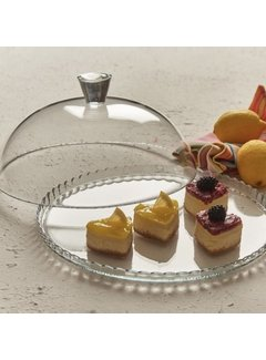 Paşabahçe Cam kapakli kek fanusu ''Patisserie''
