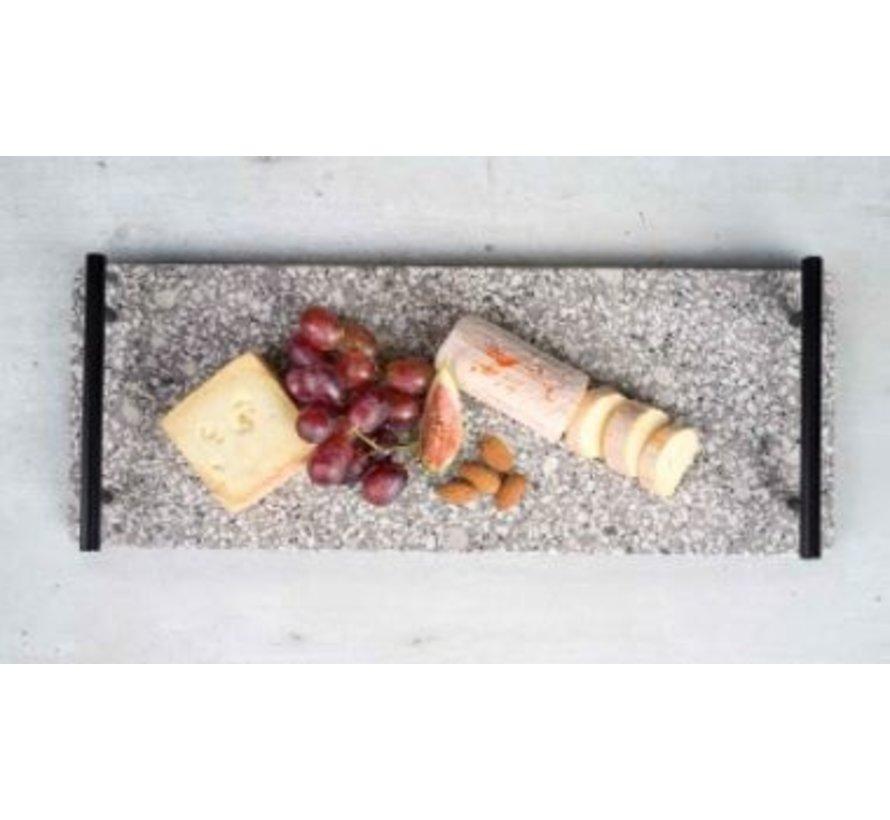 Medical stone kulplu tepsi 40x15,5 cm