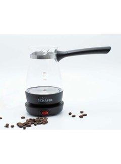 Schafer Elektrikli Turk kahvesi makinesi siyah