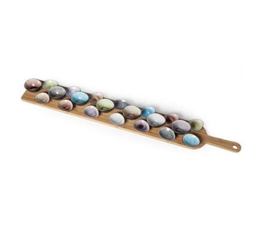 Bamboe serveerplank 100 cm