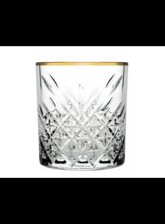 Paşabahçe Paşabahçe Timeless Golden Touch glazen set van 4