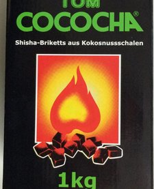 Tom Cococha waterpijp kooltjes 1kg.