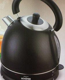 elektrische waterkoker 'Black Edition' (bol) 1,8L