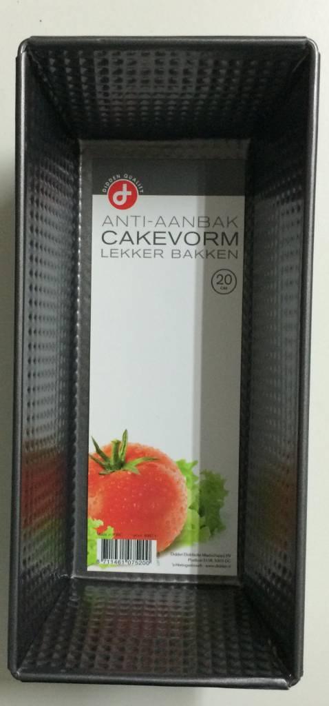 Cakevorm 20cm met anti-aanbaklaag