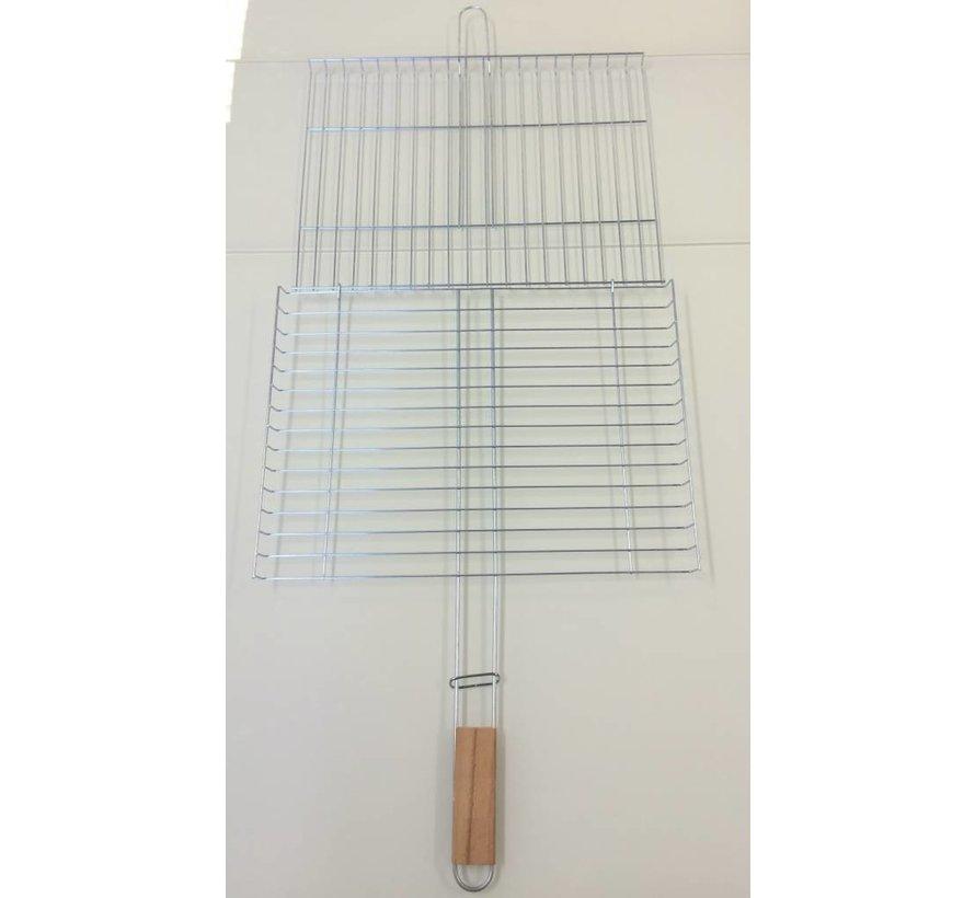 Barbecue rooster 29x39cm met handvat
