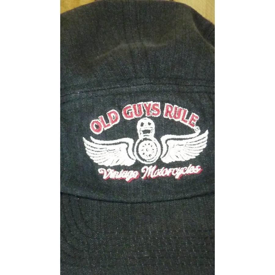Cap - Vintage Motorcycles Denim Coal