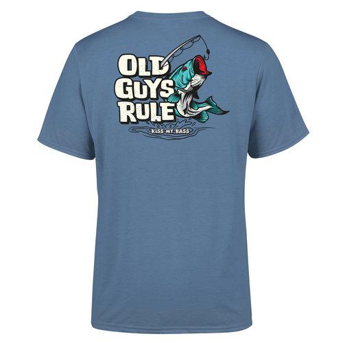 Old Guys Rule Kiss My Bass