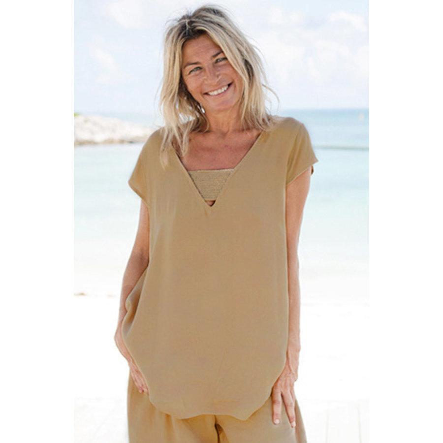 Ibiza Top Rodo Camel