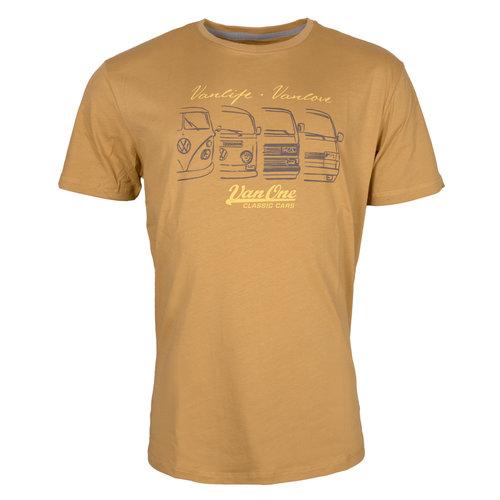 Van One Van One We Are Family Yellow T-Shirt