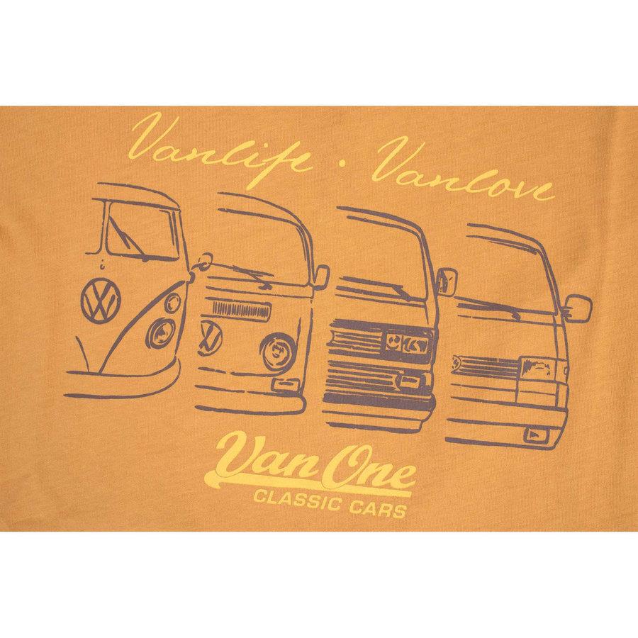 Van One We Are Family Yellow T-Shirt