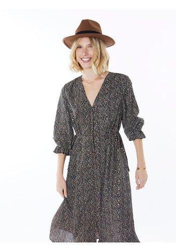 Meisïe Midi Dress Printed