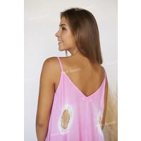Ibiza Beach Jurk Tebo Wabi Pink