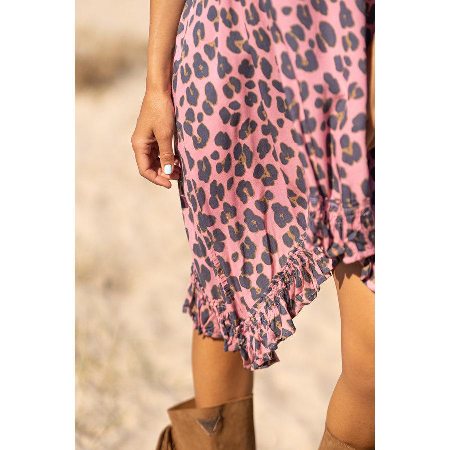 Jurk Maria Leopard Pink