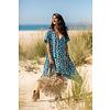 Tarifa Soul Jurk Maria Leopard Blue