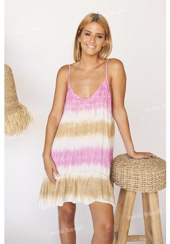 Melé Beach Ibiza Jurk Voula Gigil Pink