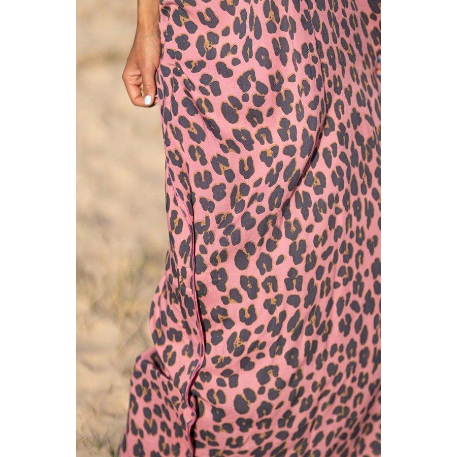 Kaftan Holbox Leopard Pink
