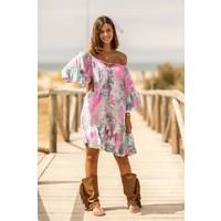 Short Dress Ada Abstract Multi