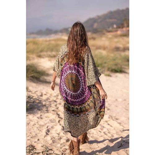 Tarifa Soul Kimono Ibiza Black