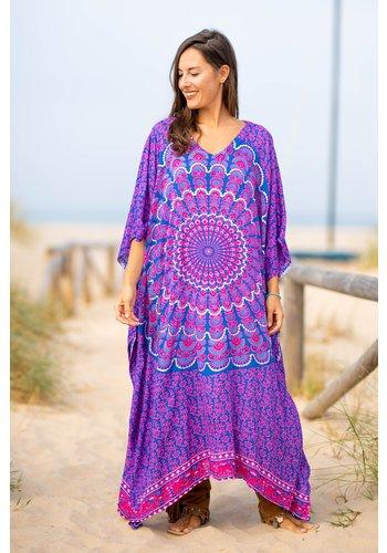 Tarifa Soul Kaftan Ibiza Long Purple Blue