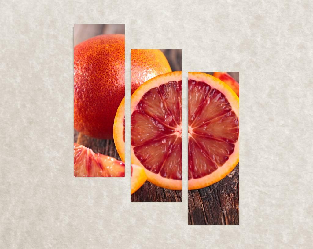 Canvas poster Citrus  Сloseup