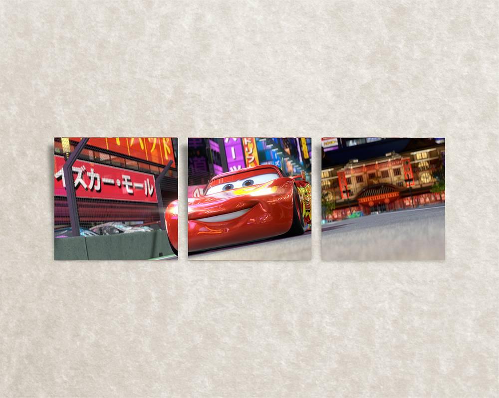 Canvas poster van Cars, McQueen