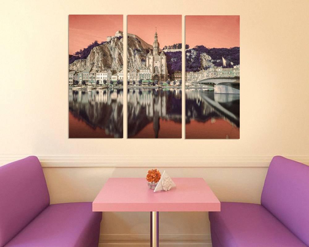 Foto op canvas van stad Dinant