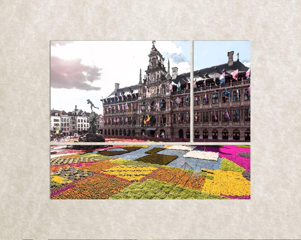 Foto op canvas van Antwerpen