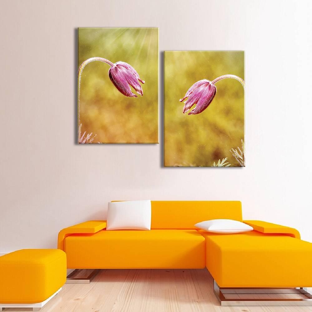 Foto op canvas - bloemen - 3F2