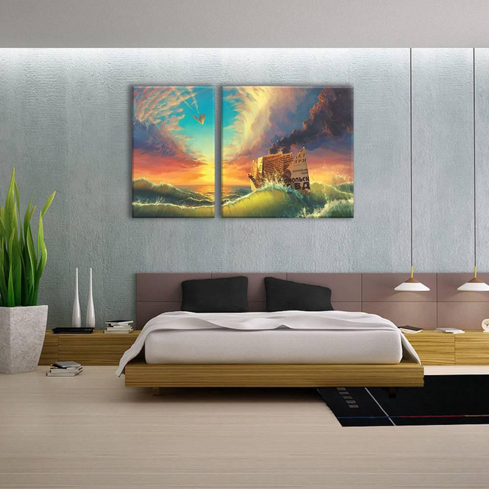 Foto op canvas - kunst - 2A2